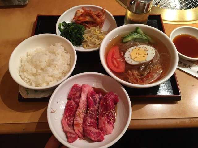 焼肉&冷麺セットの画像