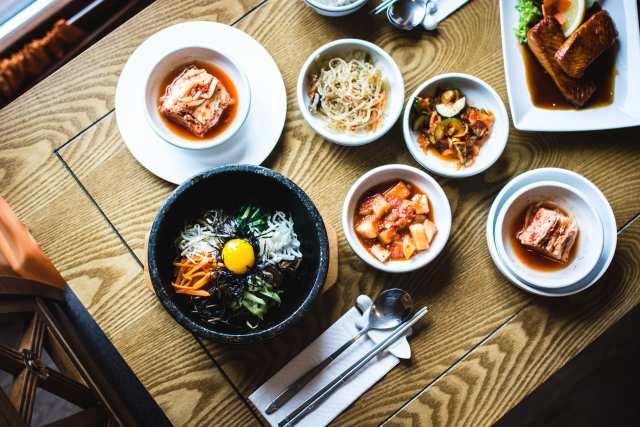 韓国料理の画像