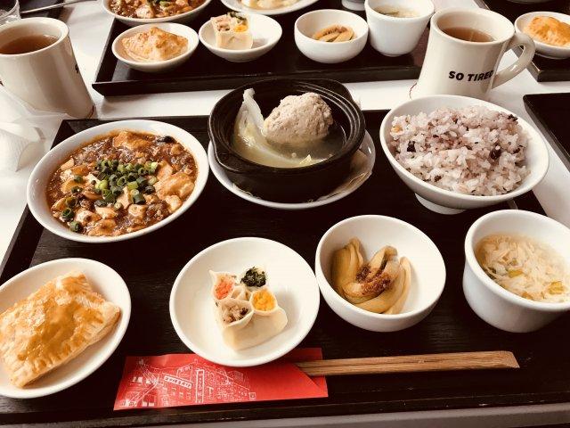 中華定食の画像