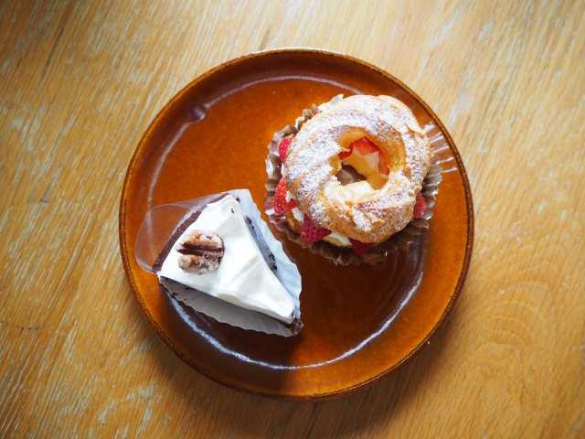 ケーキ上からの画像