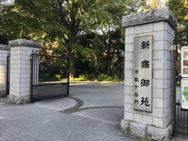 新宿御苑の記事の表紙の画像