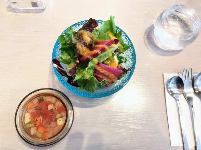 サラダ&スープの画像