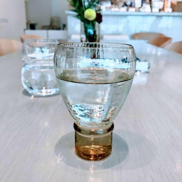 お冷グラス2